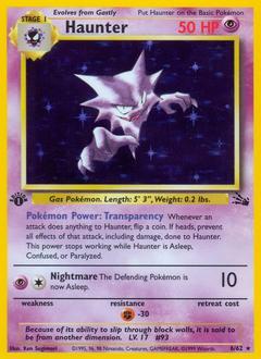 Unlimited Print 1999 WOTC Geodude 47//62 Fossil Pokemon Card NM // M