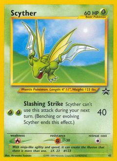 Scyther #45 Electabuzz #46 Pokemon Black Star Promos NM